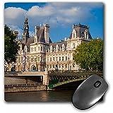 Fongakde Hotel de Ville, Town Hall, Along The River Seine, París, Francia. - Alfombrilla de ratón, 8 por 8 Pulgadas (MP_187305_1)