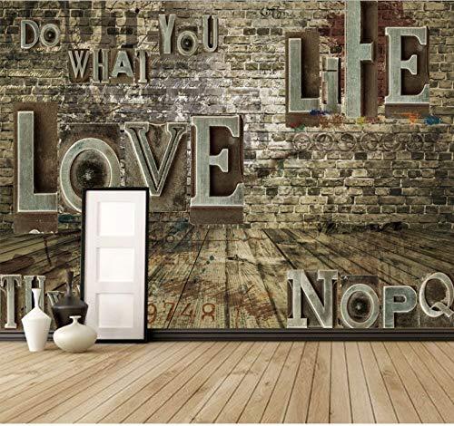 Seide Haufen (Benutzerdefinierte Jede Größe 3D Stereoscopic Fototapete Retro Ziegel Haufen Wohnzimmer Sofa Hintergrund Seide Wandbild Heimwerker 368X254 Cm)