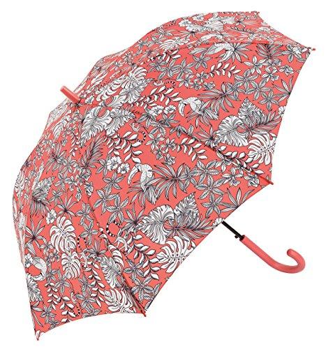 Le Monde du Parapluie Paragua clásico, Rose (Rosa) - BISETTI34188PAINTROSE Le Monde du Parapluie