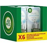 Air Wick Elektrische Geurverspreider - Pure Navulling - Zachtheid van Katoen 6x 19 ml