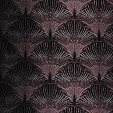 Art Déco Plüsch 20's Samtoptik New York Vorhang Polster