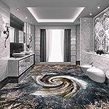 Lmopop Home Decor Abnehmbare Bodenfliesen Malerei Wallpaper Moderne 3D Stereoskopische Bodenbelag Klebstoffe Anti Verschleiß PVC Aufkleber Wandbild400X280Cm