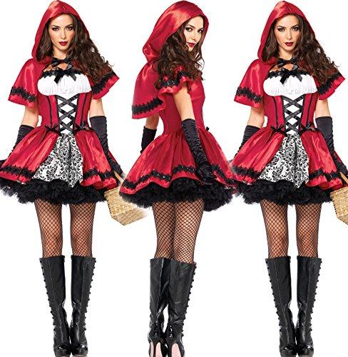 Damen Geisterbraut Kostüm cosplay Kostüme Halloween Abendkleid Damen Zombie (Rockstar Halloween Zombie Kostüme)