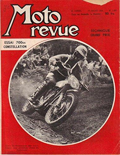 Moto Revue 1400 . 18 juillet 1958 . Essai 700 Constellation . Technique Grand Prix .
