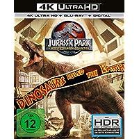 Jurassic Park 1-3 + Jurassic World - 4 Movie limited UHD Steelbook Collection