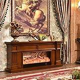 Lee 54064 ADKINC Chimenea eléctrica, Estufa y Mueble de TV, con Control Remoto,...