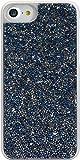 The Kase Paris Coque Bling Strass pour iPhone 7 Bleu Saphir/Argent