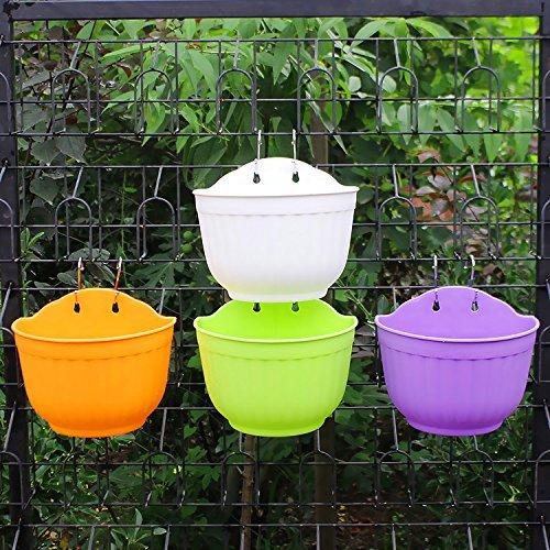 somarke-3pcs-wall-hanging-planter-pot-garden-decor-flowerpot-basket-outdoor-plant-container-white