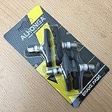 Alhonga 4x V-Brake Bremsbeläge 70mm Fahrrad MTB Bremsschuhe Bremsgummis
