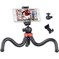 Soloflix Gorillapod 12 Inch Tripod with Flexible Stand , Octopus Camera Tripod Bundle with 360 Degree Detachable Ball…