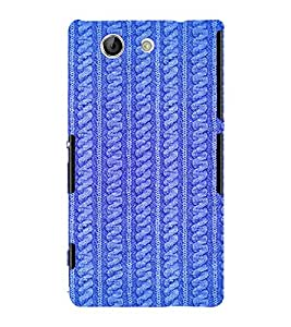 PrintVisa Sweater Pattern 3D Hard Polycarbonate Designer Back Case Cover for Sony Xperia Z4 Mini :: Compact