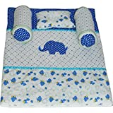 #4: Creative Textiles Soft Cotton Little New Born Bedding Gift Set for Baby Boys and Girl's