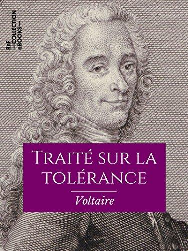 Couverture du livre Traité sur la tolérance: À l'occasion de la mort de Jean Calas (Classiques)