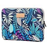 SimonS Universelle Laptoptasche, stoßfeste Notebook-Tasche mit großer Kapazität, Schutzhülle für die Tasche (11,6/12 Zoll-Blue Forest)