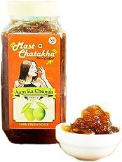Mast Chatakha Homemade Aam ka Chunda, 500 Grams