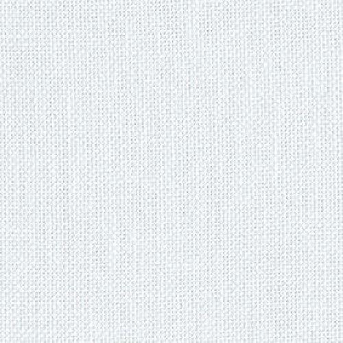 Vertrieb von Sticken, Stricken & Co. Leinenzählstoff Turin zum Besticken, 11-fädig, Fb. Weiß, Preis pro 50 cm (Leinen Kreuzstich Stoff)