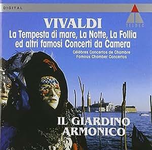 """Concerti da camara  La""""Tempesta"""",la """"Notte"""",la""""Follia"""""""