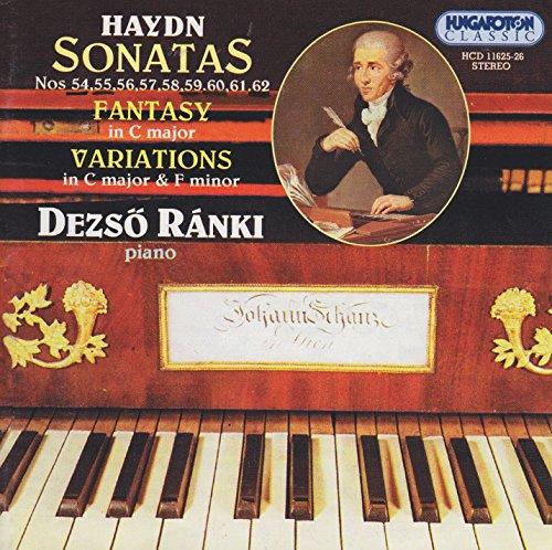 Haydn: Keyboard Sonatas Nos. 54-62 / Un Piccolo Divertimento
