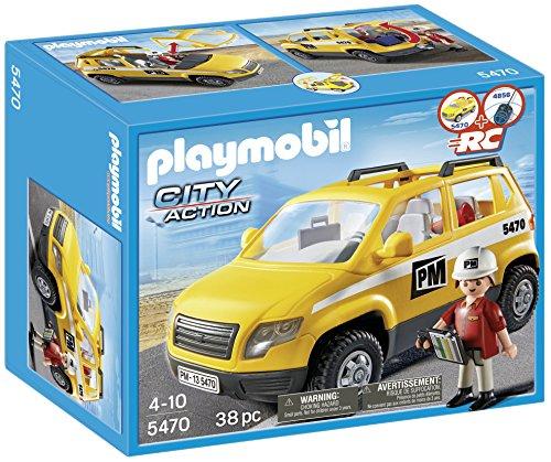 Playmobil Construcción - Coche supervisión 5470
