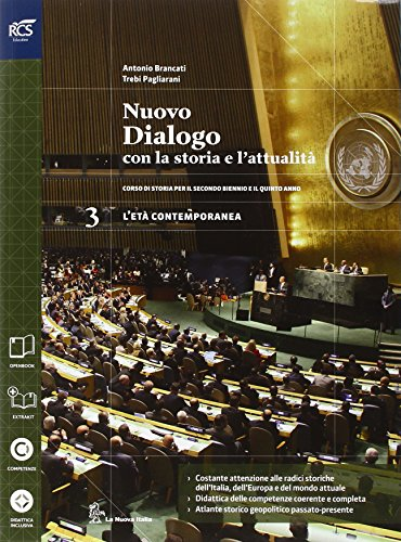 Nuovo dialogo con la storia e l'attualit. Con Extrakit-Openbook. Per le Scuole superiori. Con e-book. Con espansione online: 3
