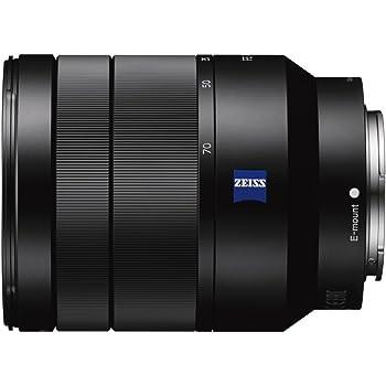 Sony SEL2470Z Vario-Tessar T* - Objetivo con montura E para Sony/Minolt, distancia focal FE 24-70 mm, apertura F4 ZA OSS, estabilizador digital, negro