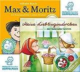 Hörbuchklassiker-Doppelpack: Meine Lieblingsmärchen der Gebrüder Grimm und Max & Moritz - Premium Edition: 2x CD + 2x Lesebüchlein + 2x mp3/eBook Download