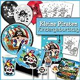 Kleine Piraten - XL Partypaket Kindergeburtstag Deko & Mitgebsel für 8 Kinder