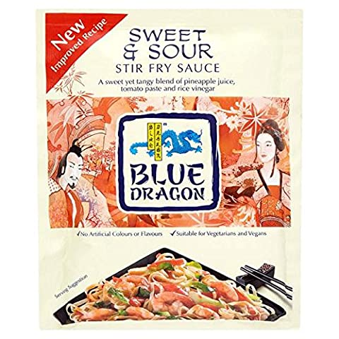Blue Dragon Sweet & Sour Sauce 120g Stir Fry (Packung