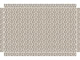 YOURDEA - Möbel Sticker für IKEA Lack Tisch Couchtisch Beistelltisch mit Motiv: Muster Indisch inklusive Rakel