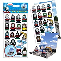Paper Projects 01.70.27.003 Thomas & Friends Thomas and Friends Pop-Up Sticker Pack