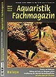 Aquaristik-Fachmagazin, Ausgabe Nr. 260 (April/Mai 18), Titelthema: MALAYA und viele weitere Artikel im einzigen deutschen AquaTerra-Magazin auf 128 Seiten