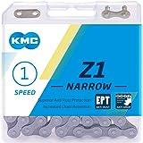 KMC Unisex - Volwassenen Z1 Narrow Ept Fietsketting, zwart, 1 maat