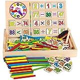 ساعة رقمية متعددة الوظائف صندوق التعلم الرقمي صندوق لعب حساب اللون