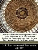 Champion International Superfund Site, Libby, Montana, Field Performance Evaluation Bioremediation Unit: In Situ Bioremediation of the Upper Aquifer