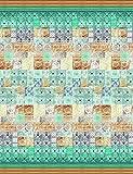 Bassetti Vietri Colcha, algodón, beige, 180x 255x 1cm