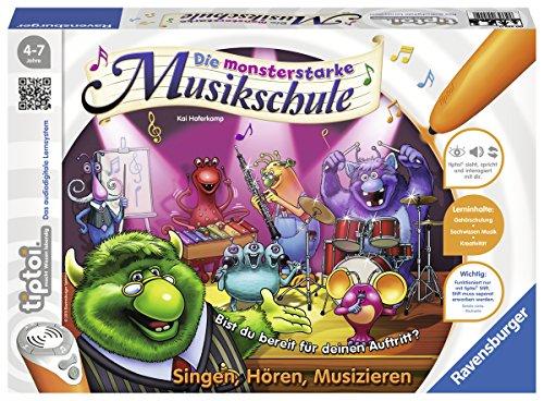 Preisvergleich Produktbild Ravensburger 00555 - Tiptoi Spiel Die monsterstarke Musikschule