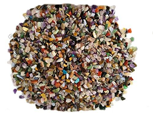 Trommelsteine | Edelsteine | Heilsteine | Mischung | aus Brasilien | 6 Sorten | ungefärbt | 1 Kg | naturprodukt | Mini