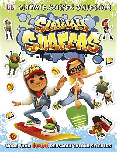 Subway Surfers Ultimate Sticker Collection (Ultimate Stickers) by Dk (1-Oct-2014) Paperback