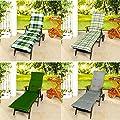 Wende Rollliegen Rollliegenauflage Liegestuhl Stuhlauflage Auflage 53x195 von Dreamhome24 auf Gartenmöbel von Du und Dein Garten