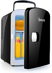 AstroAI Glacière Électrique Portatif 4L 12V/220V, Mini Réfrigérateur Voiture Chaud/Froid 0-66°C, Cadeau Femme Homme Garantie