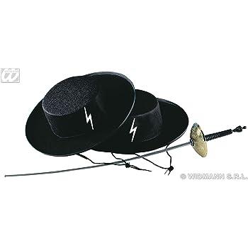 WIDMANN Cappello Zorro Caballero in Feltro bfb538806fd0