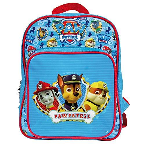 Kinder Rucksack Paw Patrol Helfer auf vier Pfoten - perfekt als Kindergarten - oder Freizeitrucksack mit verstellbaren Schulterriemen - Perletti 31 x 22 x 10 cm - Paw Rucksack