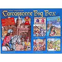 Carcassonne Big Box 2014 - Grundspiel mit Fluss & 4 Erweiterungen [Import allemand]