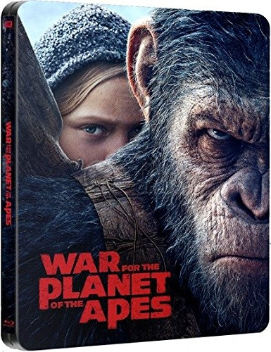 Planet der Affen: Survival - Exklusiv geprägte Steelbook 3D Lenticular Edition (3D +2D Import Fassung) (War of the Planet of the Apes) - Blu-ray