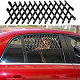 Xpccj Dog Window Guard Gate Vent , Car & Truck finestra porta Pet espandibile auto finestra ventilazione guardia di sicurezza Pet grill