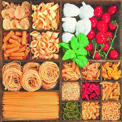 20-servietten-world-of-pasta-welt-voller-pasta-essen-nudeln-tomaten-33x33cm