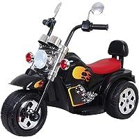 HLX-NMC Super Cruiser Battery Operated Bike for Kids - Black