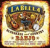Labella SET730L Set de Cordes pour Banjo