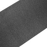 casa pura Teppich/Läufer in Sisal Optik | Flachgewebe mit Tiger-Eye-Struktur | Ausgezeichnet mit Gut-Siegel | Kombinierbar mit Stufenmatten (Anthrazit, 100x250 cm)