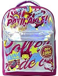 Soy Luna - Mochila grande con varios compartimentos (Toy Bags 010)